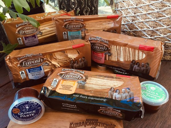 The Entertainer Hamper with Julianne's Kitchen Fruit Pastes