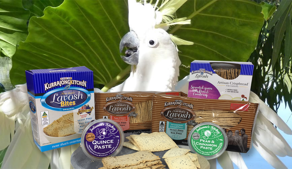 Kurrajong Kitchen Polly Want a Cracker Hamper Pack
